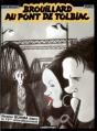 Couverture Nestor Burma (BD), tome 01 : Brouillard au pont de Tolbiac Editions Casterman 1997