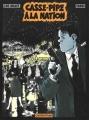 Couverture Nestor Burma (BD), tome 04 : Casse-pipe à la Nation Editions Casterman 1996