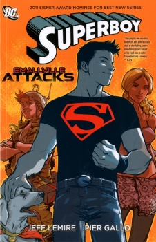 Couverture Superboy, series 5, book 1 : Smallville attacks