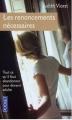 Couverture Les renoncements nécessaires Editions Pocket 2004