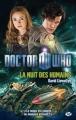 Couverture Doctor Who: La Nuit des Humains Editions Milady 2012