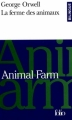 Couverture La ferme des animaux Editions Folio  (Bilingue) 1994