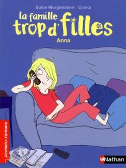 Couverture La famille trop d'filles, tome 01 : Anna