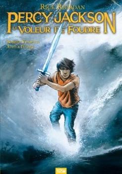 Couverture Percy Jackson (comics), tome 1 : Le Voleur de foudre