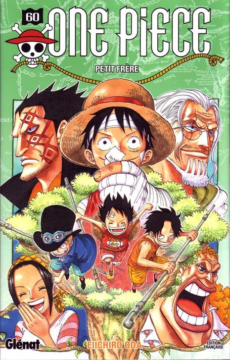 Couverture One Piece, tome 60 : Petit frère