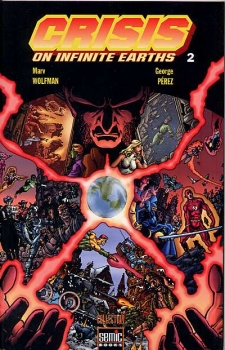 Couverture Crisis on Infinite Earths, tome 2
