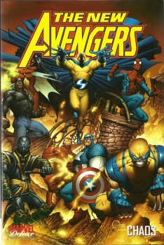 Couverture The New Avengers, tome 1 : Chaos