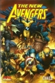 Couverture The New Avengers, tome 1 : Chaos Editions Panini (Marvel Deluxe) 2009
