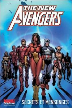 Couverture The New Avengers, tome 2 : Secrets et mensonges