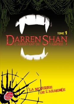 Couverture L'assistant du vampire, tome 01 : La morsure de l'araignée