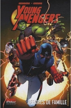 Couverture Young Avengers
