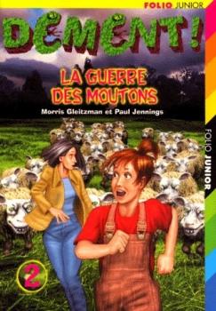 Couverture Dément !, tome 2 : La guerre des moutons
