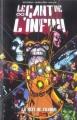 Couverture Thanos : Le Gant de l'Infini Editions Panini (Best of Marvel) 2005