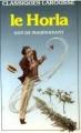 Couverture Le Horla et autres récits Editions Larousse (Classiques) 1987
