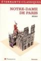 Couverture Notre-Dame de Paris, abrégé Editions Flammarion (GF - Etonnants classiques) 2003