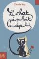 Couverture Le chat qui parlait malgré lui Editions Folio  (Junior) 2010