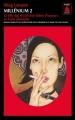 Couverture Millénium, tome 2 : La fille qui rêvait d'un bidon d'essence et d'une allumette Editions Babel (Noir) 2012