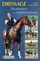 Couverture Dressage : Technique et apprentissage Editions Amphora 2001