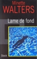 Couverture Lame de fond Editions Stock 1999