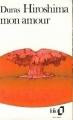Couverture Hiroshima mon amour Editions Folio  1972