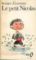 Couverture Le petit Nicolas Editions Folio  1975