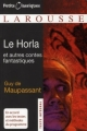 Couverture Le Horla et autres récits Editions Larousse (Petits classiques) 2008