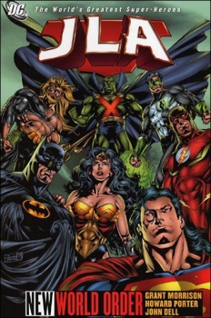 Couverture JLA, book 01 : New World Order