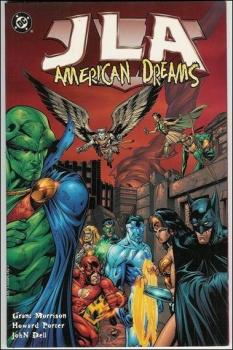 Couverture JLA, book 02 : American Dreams