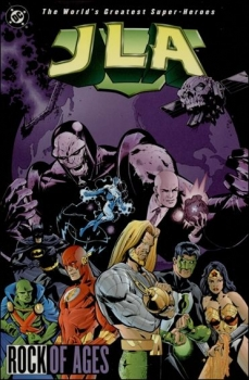 Couverture JLA, book 03 : Rock of Ages