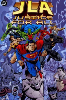 Couverture JLA, book 05 : Justice for All