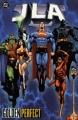 Couverture JLA, book 10 : Golden Perfect Editions DC Comics 2002