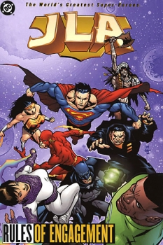 Couverture JLA, book 13 : Rules of Engagement