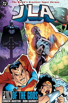 Couverture JLA, book 16 : Pain of the Gods