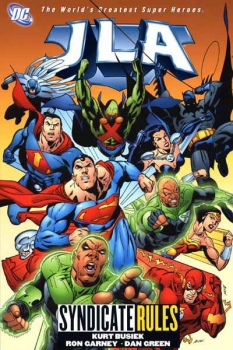 Couverture JLA, book 17 : Syndicate Rules