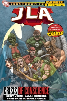 Couverture JLA, book 18 : Crisis of Conscience