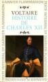 Couverture Histoire de Charles XII Editions Garnier Flammarion 1968