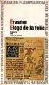 Couverture Eloge de la folie Editions Garnier Flammarion 1964