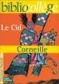 Couverture Le Cid Editions Hachette (Biblio collège) 1999