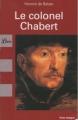 Couverture Le colonel Chabert Editions Librio 2008