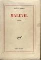Couverture Malevil Editions Gallimard  (Blanche) 1979