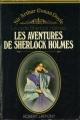 Couverture Sherlock Holme, tome 3 : Les aventures de Sherlock Holmes Editions Robert Laffont 1956