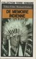 Couverture De mémoire indienne Editions Plon (Terre humaine) 1986