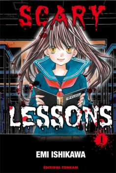 Couverture Scary Lessons, tome 01