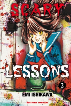 Couverture Scary Lessons, tome 02