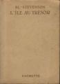 Couverture L'île au trésor Editions Hachette (Bibliothèque verte) 1953