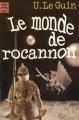 Couverture Le monde de Rocannon Editions Le Livre de Poche 1978