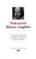 Couverture Oeuvres complètes, tome 1 Editions Gallimard  (Bibliothèque de la pléiade) 1996