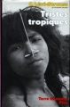 Couverture Tristes Tropiques Editions Plon (Terre humaine) 1990