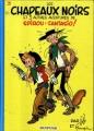 Couverture Spirou et Fantasio, tome 03 : Les Chapeaux noirs Editions Dupuis 1982
