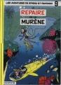 Couverture Spirou et Fantasio, tome 09 : Le Repaire de la murène Editions Dupuis 1993